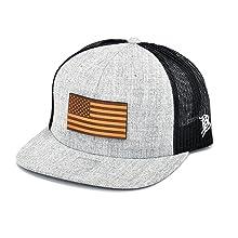 flat trucker snapback hat