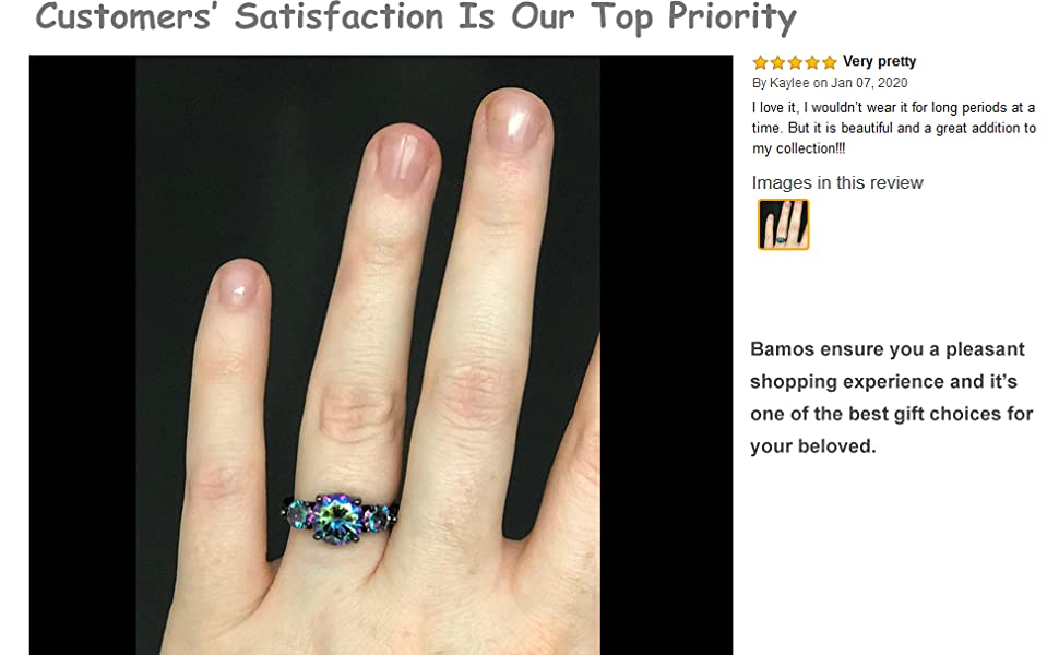 Gothic Ring for Women and Girls