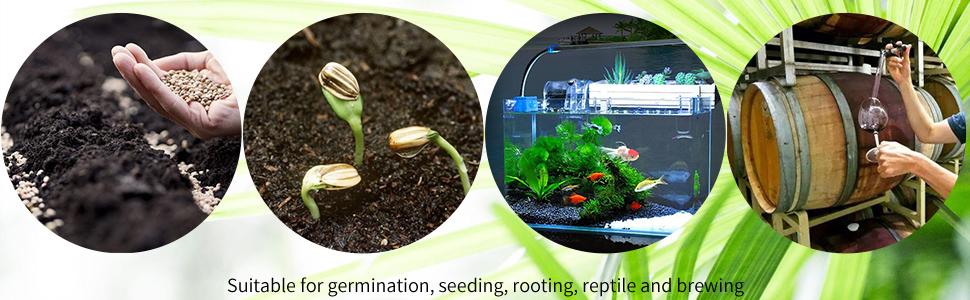 seedling heat mat digital thermostat controller