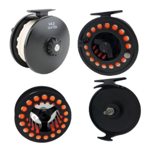 wild water fly fishing, 7 switch rod, 7 wt, 7 weight, 112mm die cast switch reel
