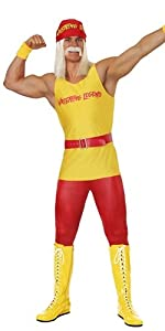hulk hogan, wwe, wrestling, costume