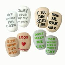 Baby Quote Socks by Mommachi
