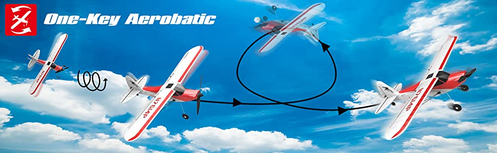 parkflyer remote control airplane for beginner rc plane ready to fly rtf