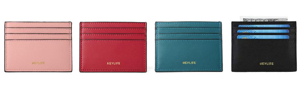 Womens Slim Card Holder Wallet