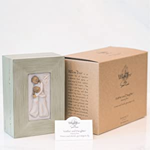 Mother and Daughter memory box with packaging and enclosure card.