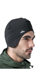 skull cap with ear cover