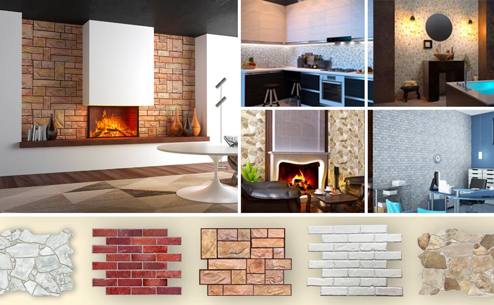 3D Panels, Wall Panels, Backsplash, Accent Wall, Feature Wall, Wall Decor
