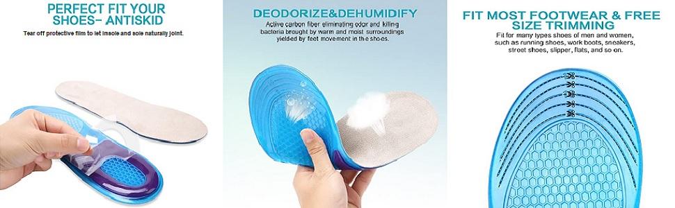 foam shoe inserts
