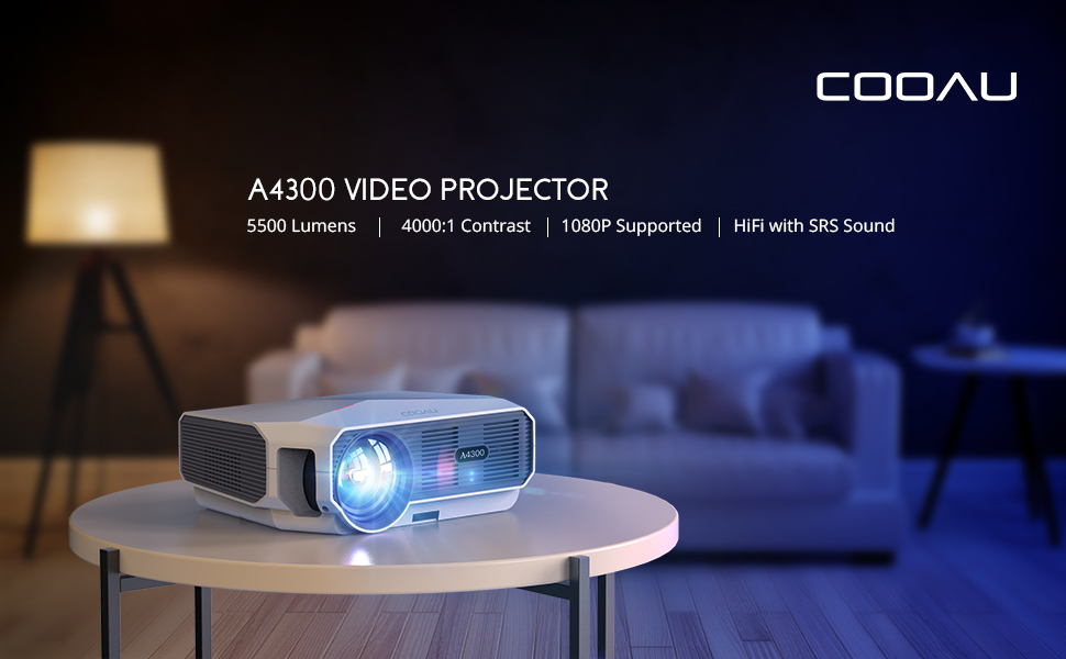 cooau projector