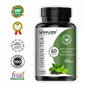 wuze product green tea extract healthy immune system capsule fat weight slim anti oxidant metabolism