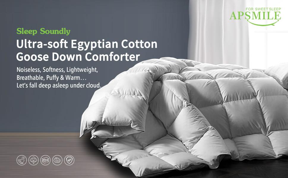 Egyptian Cotton European Goose Down Comforter