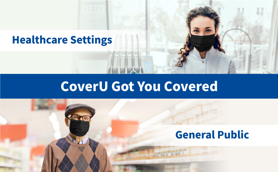CoverU Got You Covered. For Healthcare Setting and General Public.