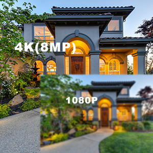 8MP 4K Ultra Resolution