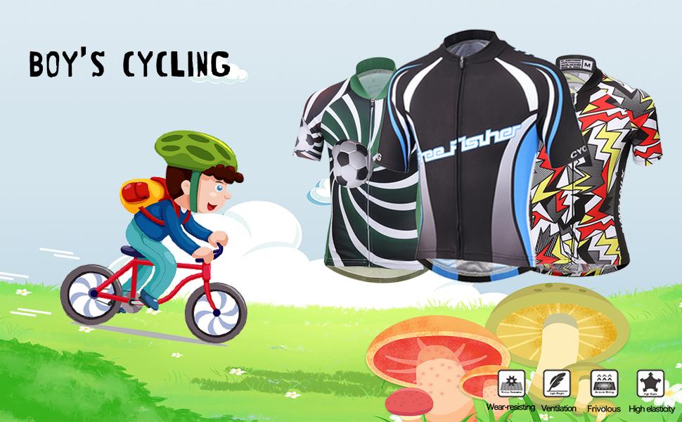 Kids Cycling Jersey
