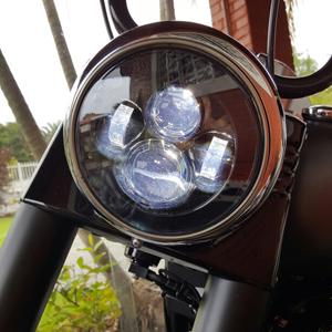 honda shadow headlight