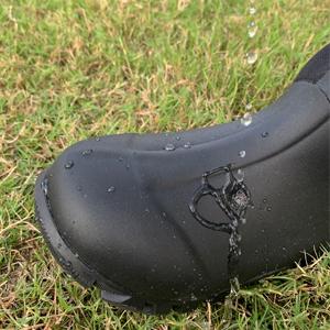100% waterproof rubber boots
