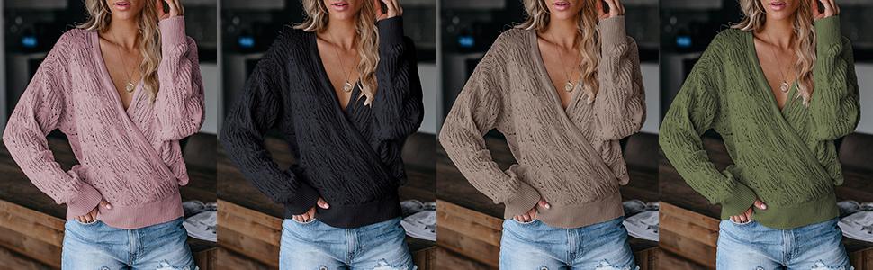 sexy deep vneck sweater