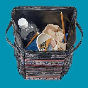 waterproof litter basket liner on stashaway auto bag