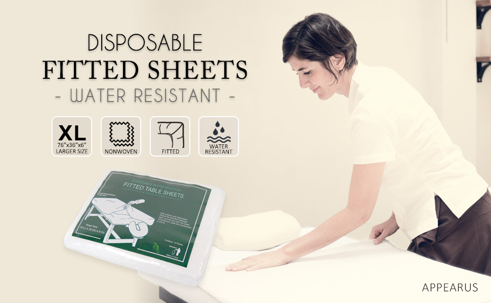 Nonwoven disposable table chair bed fitted flat drape exam sheets pad cover roll paper face tatoo
