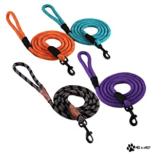 Max and Neo Rope Leash