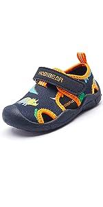 Sandalias para Unisex niños Zapatillas de Senderismo Sandalias con Punta Cerrada