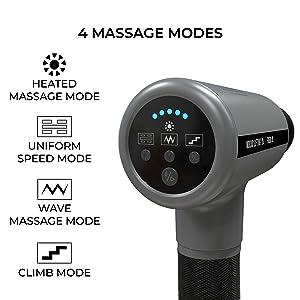 4 massage modes