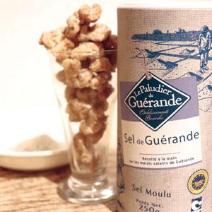 ゲランドの塩を使用