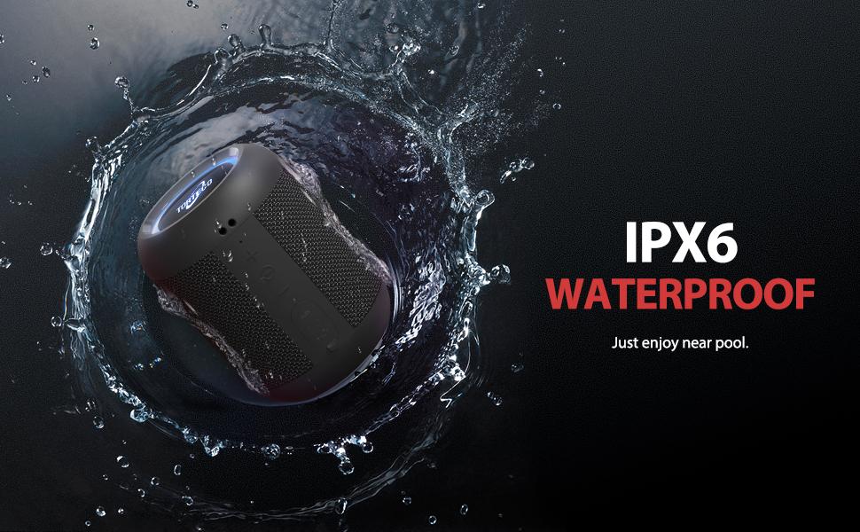 IPX6 Waterproof Bluetooth Speaker
