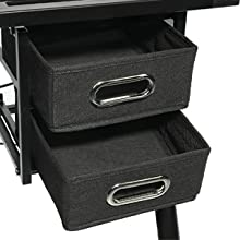 drawing table with drawers