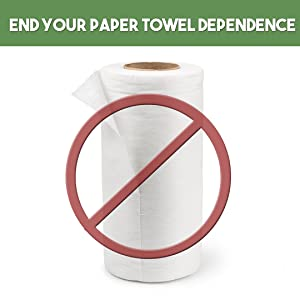 paper towels alternative recycled natural ecological