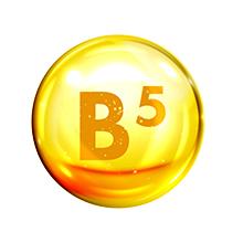 Pro vitamin B5, locks moisture, fights dry hair and scalp, strengthens hair follicles