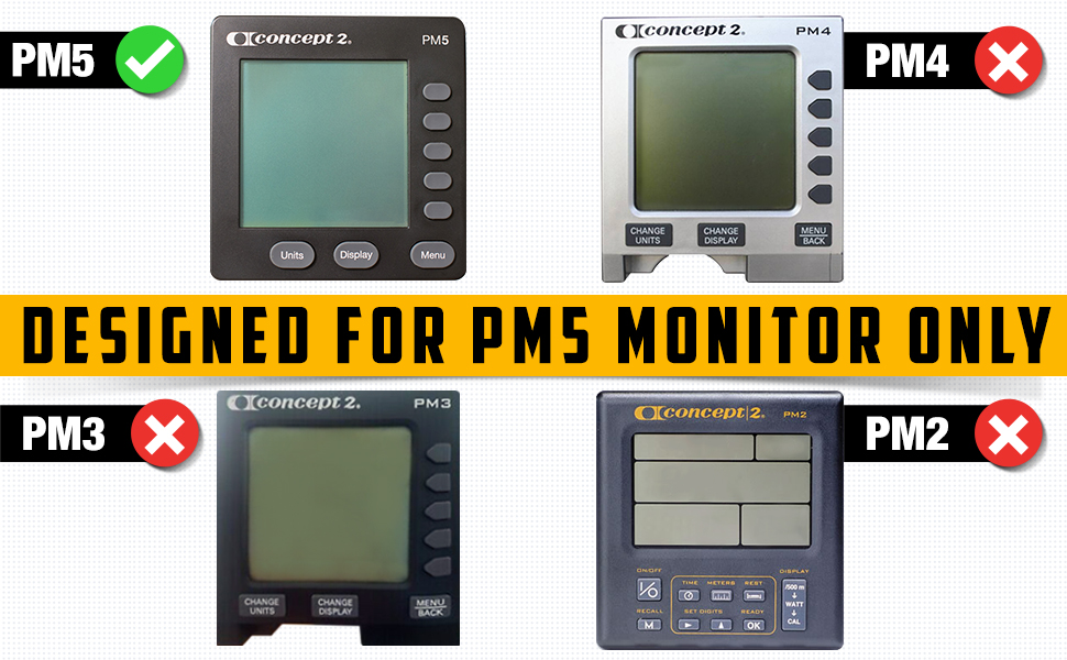 For Pm5 monitor only