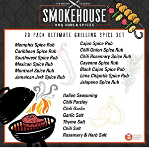 Smokehouse Ultimate Grilling Spice Set