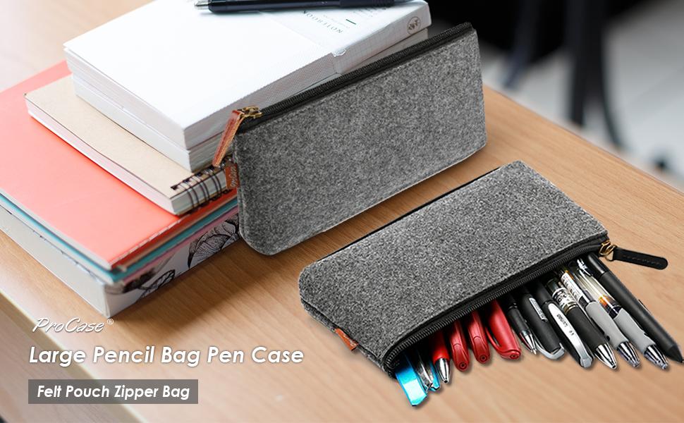 Large Pencil Bag Pen Case