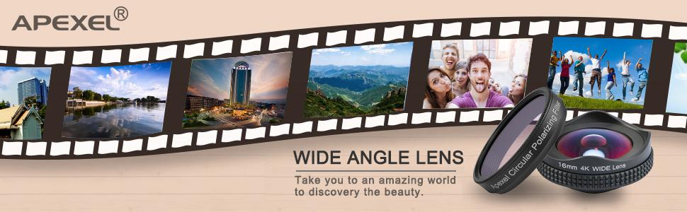 apexel lens