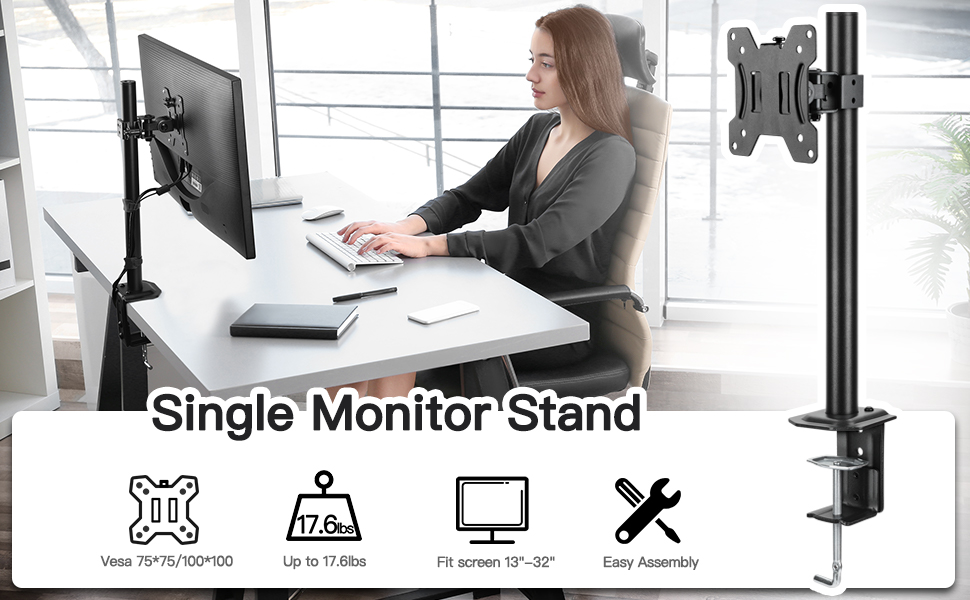 single monitor stand