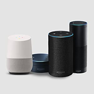 Voice Command compatible with Alexa and Google Assistant