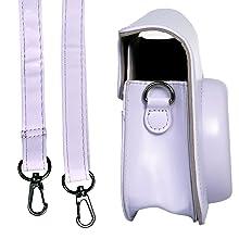 Strap Instax Mini 11 paars blauw zwart wit roze Fuji Instax Mini Fujifilm accessoires Instax