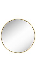 Decorative Circle Mirror