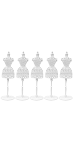 5 Pcs Plastic Doll Stand Display Holder Accessories For  Dolls LE