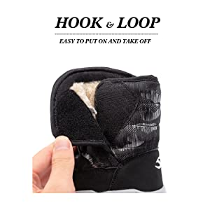 Hook-and-loop closure design