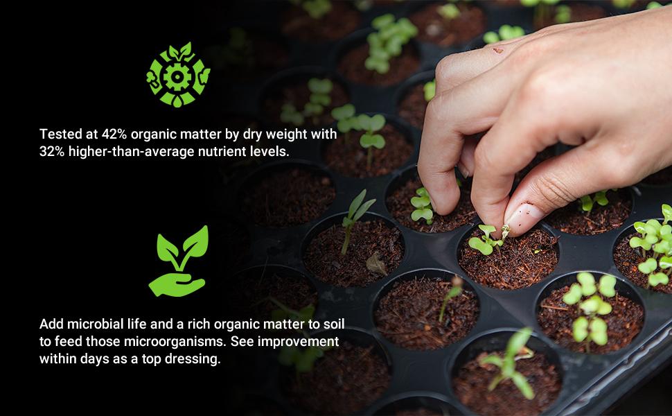 bins earthworm fertilizer top dressing uncle jim's urbalive seed starting mix enhancer heater bag