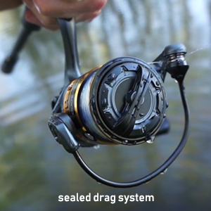 Sealed drag delivers a consist drag in all conditions