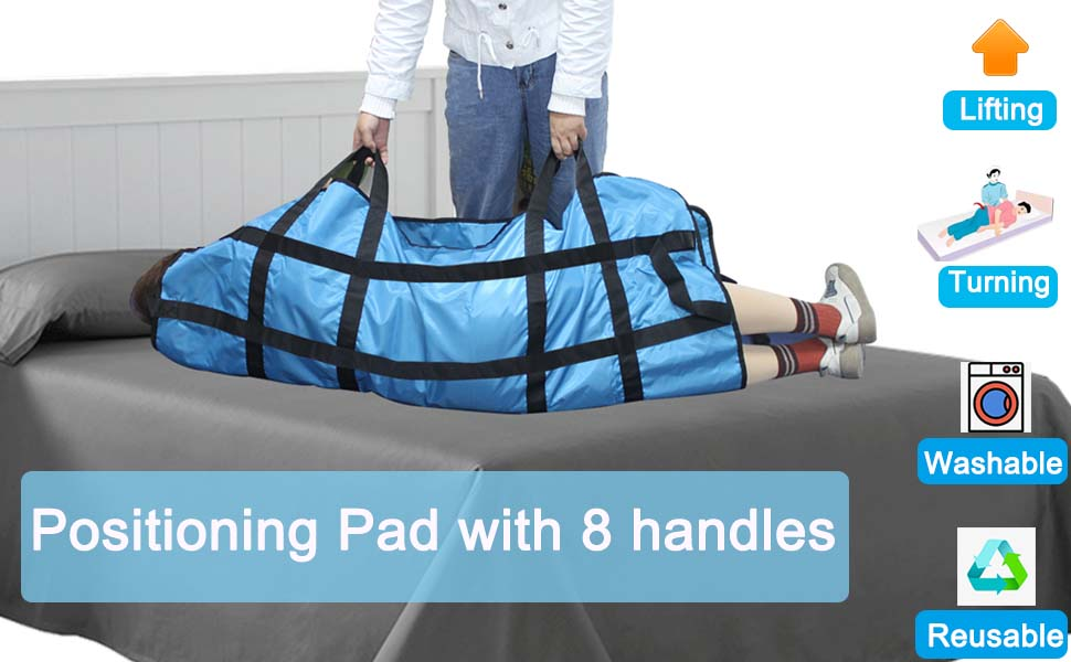 positioning bed pad with handles hospital bed transfer board sheets hospital bed hospital bed