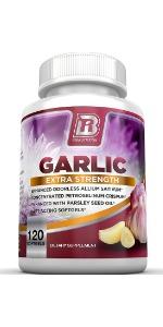 BRI Nutrition Odorless Garlic Maximum Strength