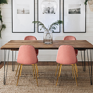 dining chairs mid century