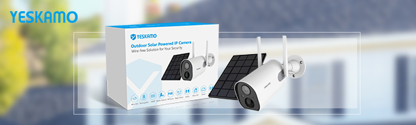YESKAMO solar camera