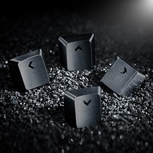 Steel Keycaps