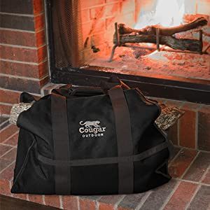 Make hauling firewood to fireplace a snap, with our convenient, durable