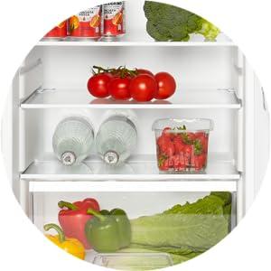 Haden MDA fridge freezerRefrigerator – Freestanding Under Counter Larder Fridge